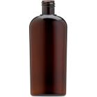 4 oz. Amber PET Plastic Oval Bottle, 20mm 20-415