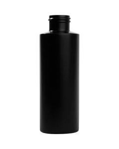 4 oz. Black Cylinder HDPE Bottle, 24mm 24-410