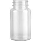 4 oz. (120cc) Clear PET Round Packer Bottle, 38mm 38-400