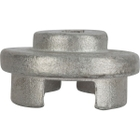 """Bright Zinc Plated Cast Steel Socket for 3/4"""" & 2"""" Hex Head Plugs for 3/8"""" Drive Wrench"""
