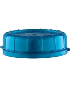 48mm Pearl Blue Plastic Tamper Evident Snap On Cap