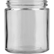 4 oz. Straight Sided Glass Jar, 58mm 58-400