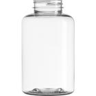 16 oz. (500 cc) Clear PET Plastic Packer Bottle, 45mm 45-400