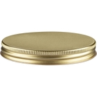58mm 58-400 Gold/Gold Metal Cap with Plastisol Liner