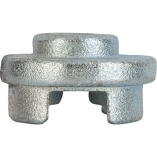 """Bright Zinc Plated Cast Steel Socket for 3/4"""" & 2"""" Hex Head Plugs for 1/2"""" Drive Wrench"""