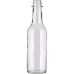"5 oz. Glass ""Woozy"" Hot Sauce Bottle, 24mm 24-490"