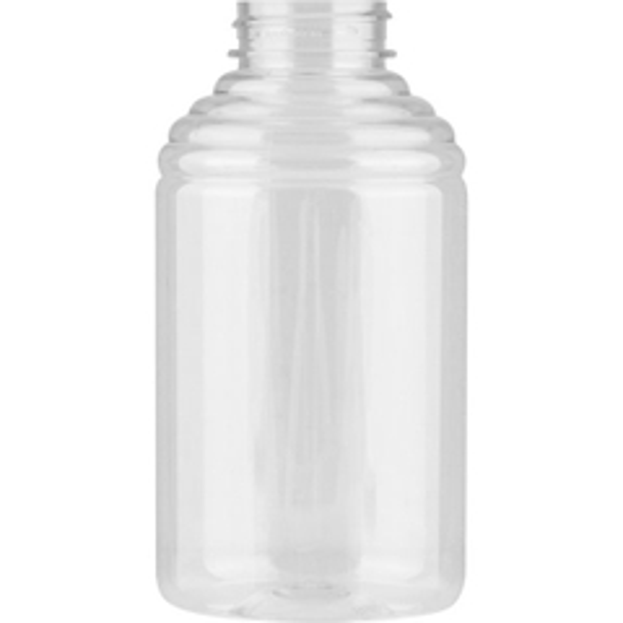 16 oz. (1.5 lb.) PET Plastic Skep Honey Bottle, 38mm 38-400