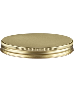 63mm 63-400 Gold/Gold Metal Cap with Plastisol Liner