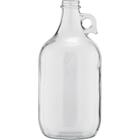 1/2 Gallon (64 oz) Clear Glass Jug, 38mm 38-405