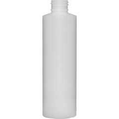 6 oz. Natural Cylinder HDPE Bottle, 24mm 24-410