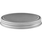89mm 89-400 Clear Aluminum Metal Cap with PE Foam Liner