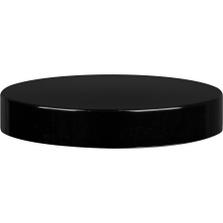 89mm 89-400 Black Phenolic Cap w/Pulp & Aluminum Foil Liner