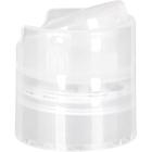 28mm 28-410 Natural Disc Top Cap with Pressure Sensitive Liner