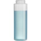 8 oz. Natural LDPE Plastic Cylinder Bottle, 38mm 38-405