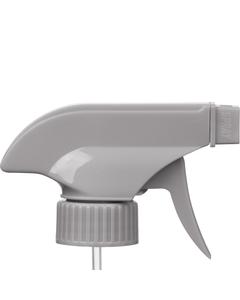 "Gray Trigger Sprayer, 9-1/4"" Dip Tube, 28mm 28-400"