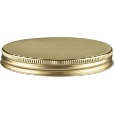 89mm 89-400 Gold/Gold Metal Cap with Plastisol Liner