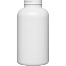 32 oz. (950 cc) White PET Plastic Packer Bottle, 53mm 53-400