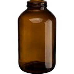 32 oz. (950 cc) Amber Glass Packer Bottle, 53mm 53-400