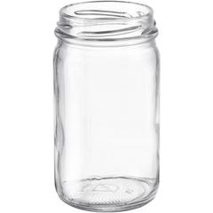 8 oz. Clear Glass Mayo Jar, 58mm 58-2020