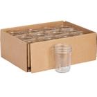 8 oz. Clear Glass Jelly Jar, 70mm 70-450, 12/cs