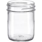 8 oz. Straight Sided Glass Jar, 70mm 70-450