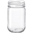 12 oz. Clear Glass Mayo Jar, 70mm 70-450