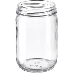 12 oz. Clear Glass Mayo Jar, 70mm 70-2030