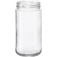 12 oz. Paragon Glass Jar, 63mm 63-405, 12/cs