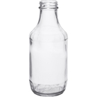 16 oz. Clear Glass Decanter Bottle, 38mm 38-405, 12/cs