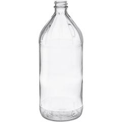 32 oz. Clear Glass Vinegar Bottle, 28mm 28-405