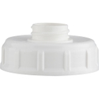 63mm 63-485 White Dome Cap Adaptor with 28mm Center Neck