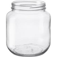 1/2 Gallon (65 oz.) Wide Mouth Glass Jar, 110mm 110-405