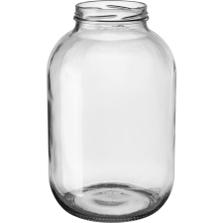 1 Gallon (128 oz) Glass Jar, 89mm 89-2050, 4/cs