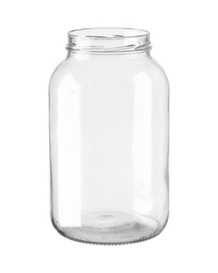 1 Gallon (128 oz.) Wide Mouth Glass Jar, 110mm 110-2070