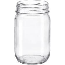 14 oz. Clear Glass Mayo Jar, 70mm 70-450