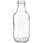 16 oz. Clear Glass Decanter Bottle, 38mm 38-2000