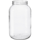 1 Gallon (128 oz.) Wide Mouth Glass Jar, 110mm 110-405