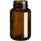 4 oz. (120 cc) Amber Glass Packer Bottle, 38mm 38-400