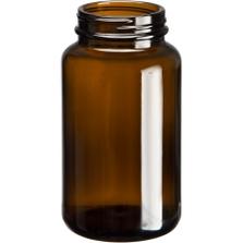 10 oz. (300 cc) Amber Glass Packer Bottle, 53mm 53-400