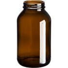 17 oz. (500 cc) Amber Glass Packer Bottle, 53mm 53-400