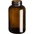 21 oz. (625 cc) Amber Glass Packer Bottle, 53mm 53-400