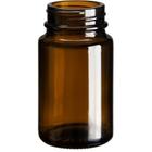 2.5 oz. (75 cc) Amber Glass Packer Bottle, 38mm 38-400