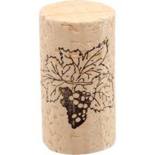 Acquamark® Colmated Natural Wine Corks, 45 x 24 mm, 100/pk