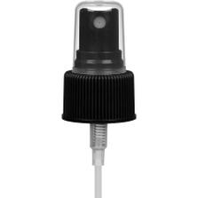 "Black Mist Sprayer Pump with 6-7/8"" Dip Tube, 24mm 24-410"