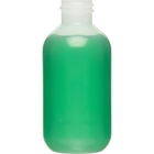 2 oz. Natural LDPE Plastic Boston Round Bottle, 20mm 20-410
