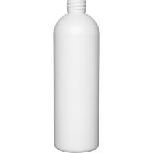 16 oz. White HDPE Plastic Bullet Bottle, 28mm 28-410