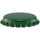 Green Beer Bottle Caps, Oxygen Absorbing, 26 mm Pry-Off Crown, 10,000/cs