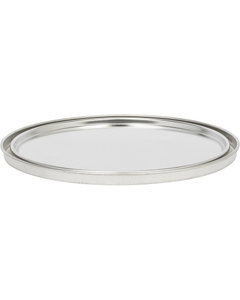 1 Gallon Metal Paint Can Lid, Unlined