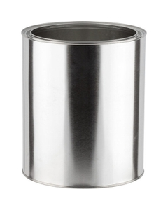 1 Gallon Metal Paint Can, Unlined