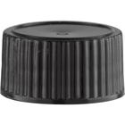 20mm 20-400 Black Plastic Cap w/Poly Cone Insert
